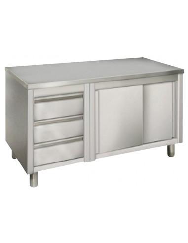 Szafka kabinet z szufladami 180 cm z...