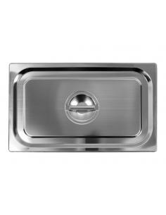 Pokrywka pojemnika GN 1/1 gastronomiczna ze stali nierdzewnej