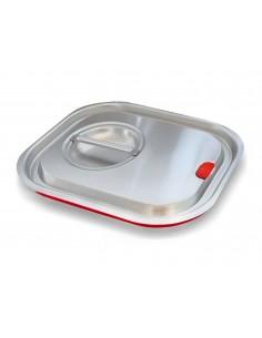 Pokrywka pojemnika GN 1/4 sylikonowa uszczelka do gastronomii