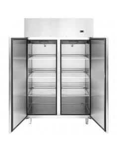 Szafa chłodniczo-mroźnicza 120x195cm 900L -2 do +8 chłodzenie dynamiczne stal nierdzewna