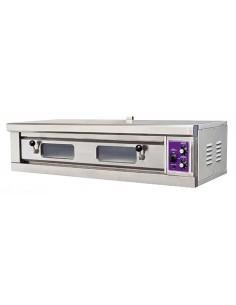 Piec do pizzy 5,2kW 400V szamot na dwie pizze 40cm