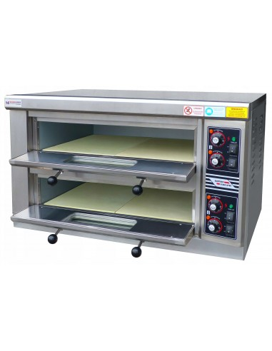 Piec do pizzy dwukomorowy 6kW 400V...
