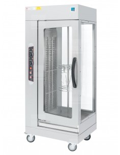 Rożno elektryczne 7kW 230V obrotowe wysokie do 12 kurczaków