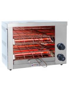 Opiekacz dwupoziomowy elektryczny 2,55kW 230V salamander do kanapek, tostów, zapiekanek